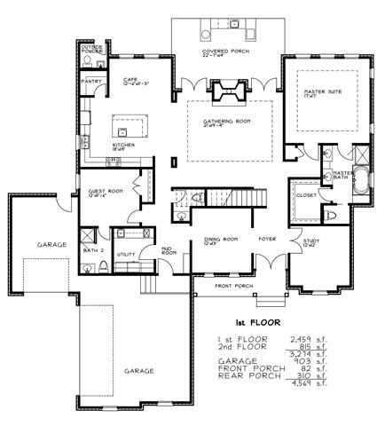 Garrison ridge quality new home construction near mobile for House plans mobile al