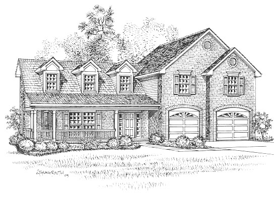 Floor Plan - The Evangeline