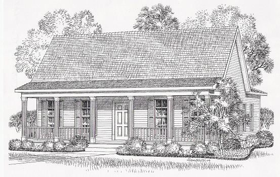 Floor Plan - The Acadian